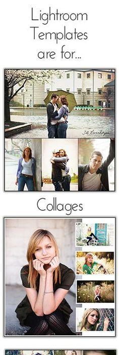 Free Lightroom Collage Templates Photo Pinterest Collage - Lightroom templates