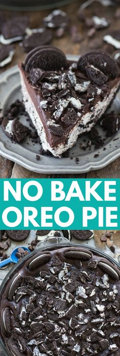 No Bake Oreo Pie Recipe