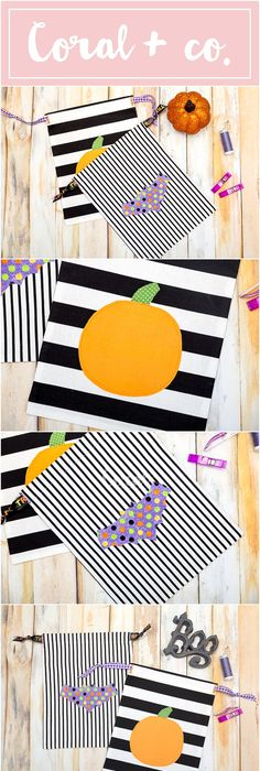 Need a new Halloween Trick or Treat Bag? Here are 13 DIY Trick or - homemade halloween decorations kids