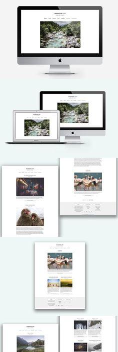 Amiable - A WP Blogging Theme   Wordpress blog themes and Wordpress