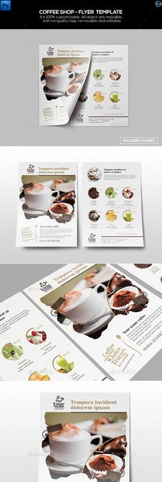 Coffee Shop Flyer  Menu  Coffee Poster Food Menu And Template