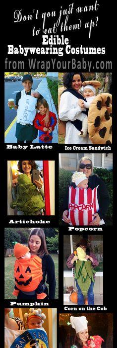 21 Creative Babywearing Halloween Costumes Family Halloween - diy infant halloween costume ideas