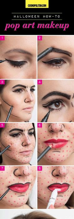 11 Halloween Looks You Can Create With Makeup You Already Have - easy makeup halloween ideas