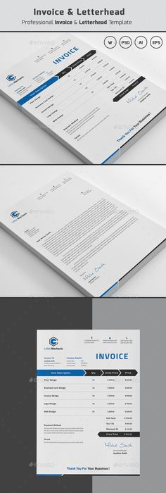 Colorful Letterhead  Stationery Printing Print Templates And