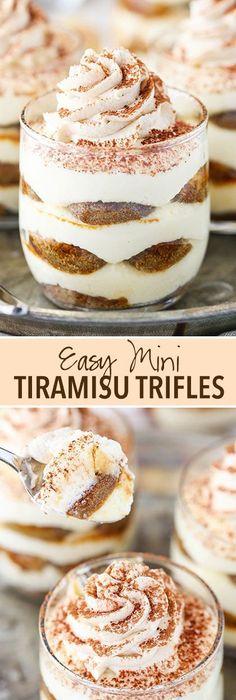 Mini Tiramisu Trifles