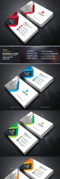 Creative black textured business card template available for creative black textured business card template available for purchasing as psd file in four different color schemes nspiration lham pinterest reheart Gallery