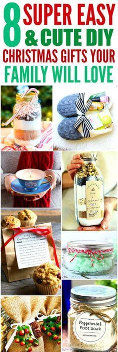 Easy homemade christmas gift ideas for friends