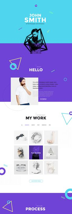 Me is a one page  Multi Pages psd portfolio  CV / Resume templates