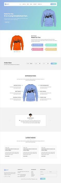 Category Page Design For The SourceSuppliescouk ECommerce Website - Single product ecommerce template