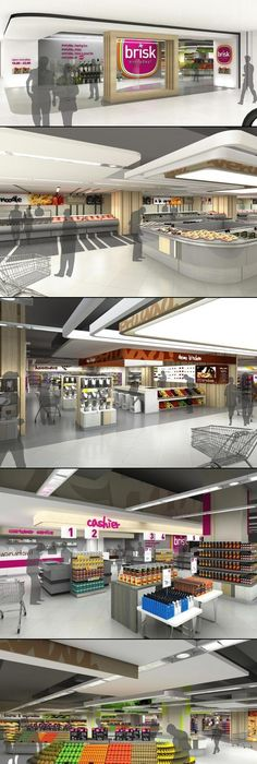 Pin by Uyen Tran Nha on supermarket architecture Pinterest - fresh building blueprint design software