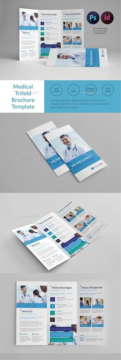 Corporate TriFold Brochure Template PSD Download Here Http - Brochure template photoshop