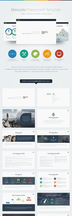 Jd  Personal Powerpoint Presentation Template On Behance