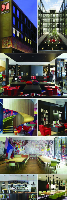 CitizenM Schiphol airport Amsterdam Lobby Design Hotel Travel C - design hotel citizenm london