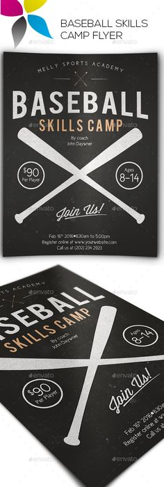 Vintage Baseball Flyer  Edit Text Blackboards And Vintage