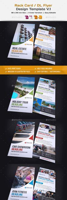 Spa Lovers Dl Flyer Template Dl Flyer Design Pinterest Flyer