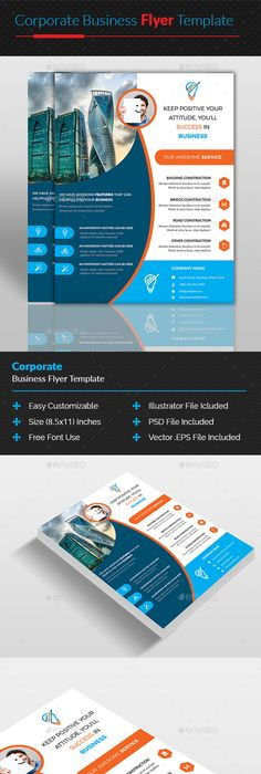 Corporate business flyer template psd vector eps ai flyer corporate business flyer template psd vector eps ai flyer templates pinterest business flyers corporate business and business flyer templates accmission Images