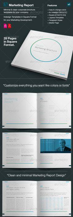Design Marketing Brochure A4 And Us Letter V1 Brochures