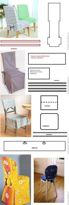 DIY Chair Covers Projects This Is Also The Tutorial Website No Longer Exists Have Made Dining Room So I Do Not To Dust Them Often