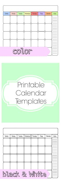 Need A Blank Calendar Template Here It Is This Works Great As A