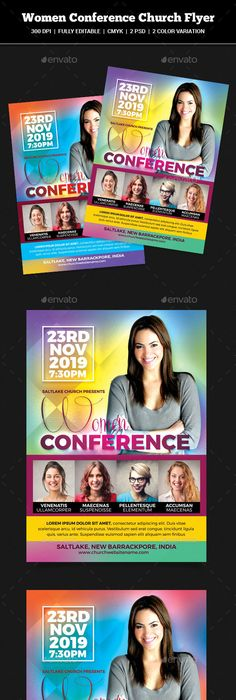 Revive Conference Church Flyer  Churches Template And Graphics