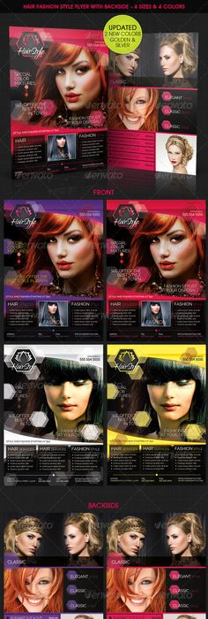 City Hair Salon Promotional Flyer  Promotional Flyers Print