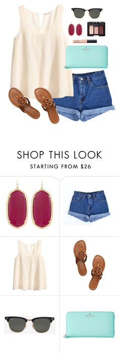 high waisted by classically-preppy on Polyvore featuring H&M, Levi's, Tory  Burch,