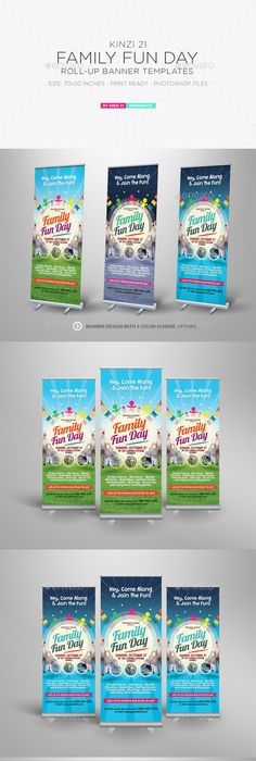 Alternative Family Fun Day Flyers Flyer Template Alternative And