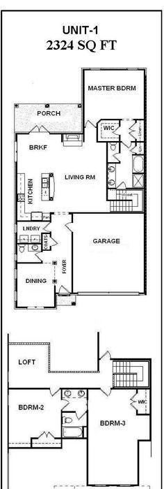 Multi-Unit House Plans - Home Design GHD-4003 # 9990 House, Bunk - fresh gym blueprint maker