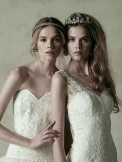 wedding dress ウエディングドレス (左)KENNETH POOL 03-8847(右)KENNETH POOL 03-8848 #ウエディングドレス#JUNO