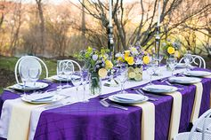 Purple wedding theme | Elegant Spring Wedding | Donna Cheung Photography
