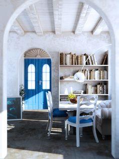 Greek Island Interior - Mourelas konstantinos