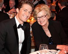 Mathew Morrison & Frances Cassidy. The American Australian Association Benefit Dinner.