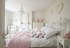 Chambre à coucher de style shabby chic en 55 idées pour vous! #romanticroomdecor