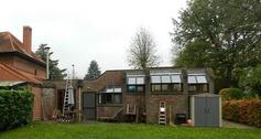 The owner wanted an extra volume to live in. © Architechten LMS Vermeersch