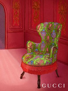 Presenting the new Gucci Décor collection of furniture and decorative pieces to personalize spaces.