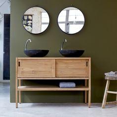 Laissez-vous tenter par la simplicité de ses lignes, associées à la qualité du bois de teck massif. #Tikamoon