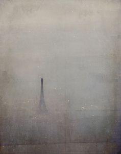 雨の日の夢幻的なパリ <3
