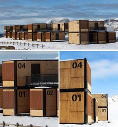 This Shipping Container Hotel Was Designed To Travel To Events Around The World