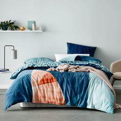 Home Republic Innes Quilt Cover Set, doona cover, bedlinen