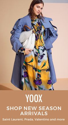 Discover tons of new arrivals on @YOOX to get you through the season in style! Shop need-now looks from top brands like Miu Miu, Dolce & Gabbana, Rochas and more.
