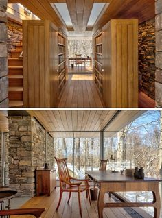 This Writer's Studio Was Designed As A Place Of Solitude