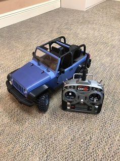 Just finished my latest project.  A full operational R/C Jeep.  With 212 printed parts, 486 pcs. of hardware, almost 300 hours of print time and 20 hours of assembly.  My Prusa Mk2S is a total workhorse! #prusai3 #prototyping #toysandgames