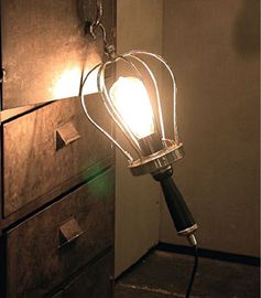 Lampe baladeuse en nickel Chehoma
