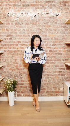 Entrepreneur and founder of Zola, Shan-Lyn Ma, is no stranger to next-level hard work, but she also makes time for self-care—and a little pampering.