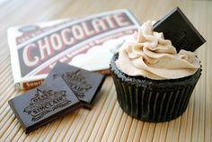 Cinn-Chili Chocolate Cupcakes with Cinnamon Buttercream: cinnamon + cayenne + chocolate = awesome