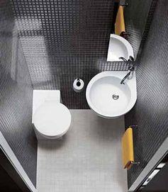 Du carrelage pour une déco WC noir