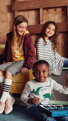 Back-to-school has become a kids' red carpet, and we have the cutest, coolest and most affordable styles for their big debut! Pastel hues, trendy stripes and bright sequins — it's time to stock up on the latest must-have pieces for the youngest trendsetters on the block. | H&M Kids