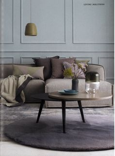 Moroso - Massas Sofa - Elle Deco April 13 Fringe Cushions