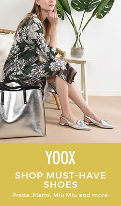 @YOOX has your line up of seasonal essentials to get you through in style! Shop need-now shoes from top brands like Miu Miu, Dolce & Gabbana, Rochas and more to finish your look.