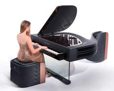 Exxeo Luxury Hybrid Piano by Iman Maghsoudi.